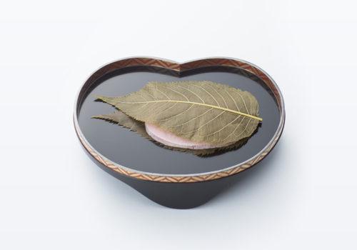 栗あん桜餅